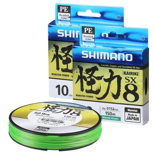Pintas valas Shimano Kairiki SX8 Mantis Green