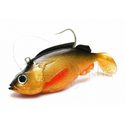 Jūrinis guminukas KINETIC MagicMinnow Red Ed 395g 200mm